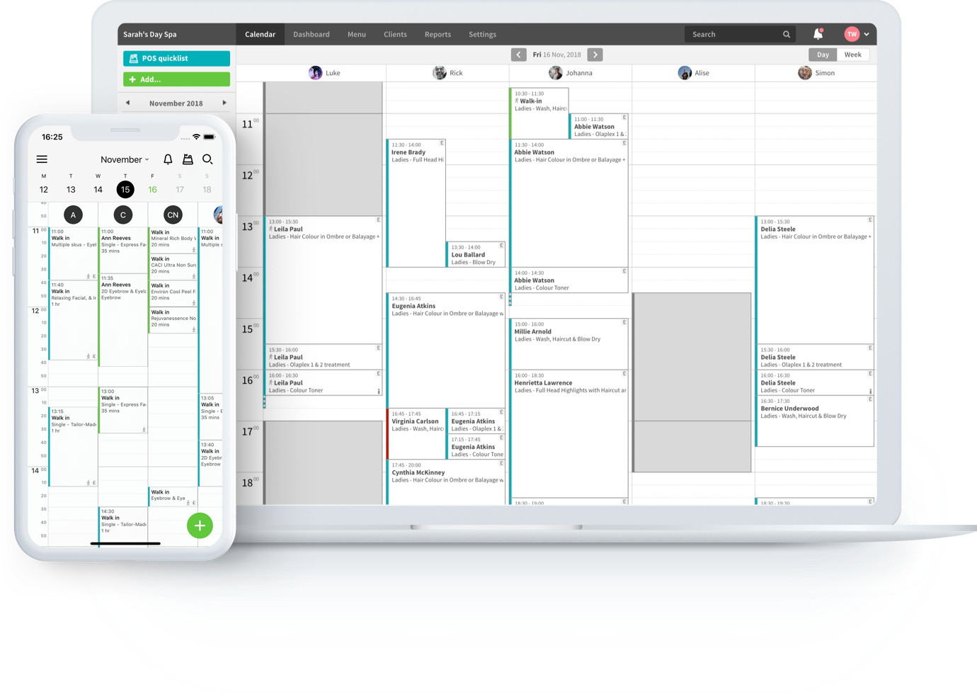Treatwell Connect - Mobile App & Desktop