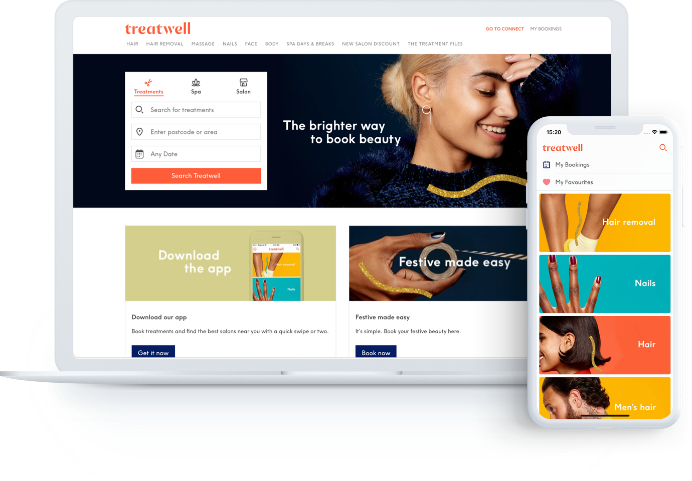 Treatwell Marketplace - Website & Mobile App