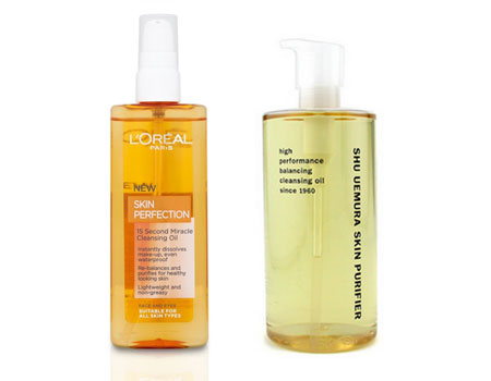 Cleansing face oils