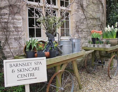 Barnsley Spa & Skincare Centre at Barnsley House