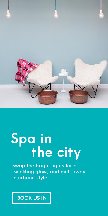 city spa day