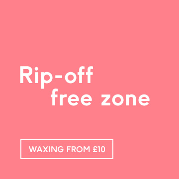 Rip-off free zone Waxing Offers