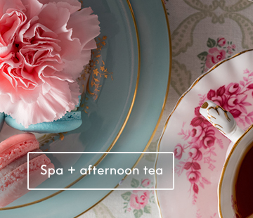 mothers day spa afternoon tea