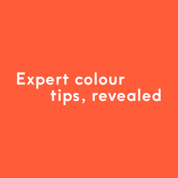Expert colour tips, revealed