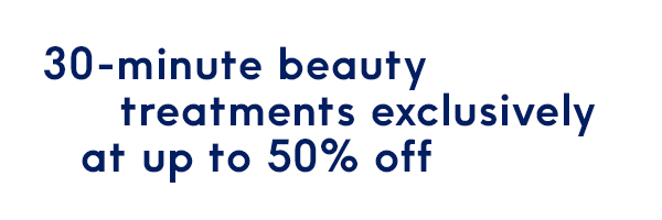 50% off beauty