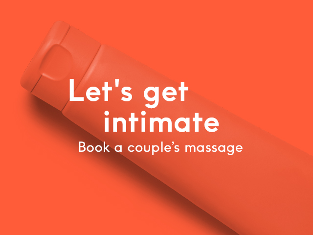 valentine's day couples massage intimate