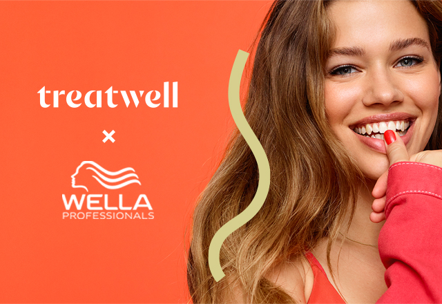 wella hair colour girl